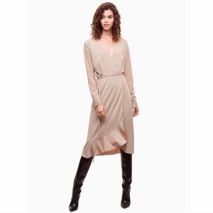 NWT Aritzia Josie Wrap Dress Size L